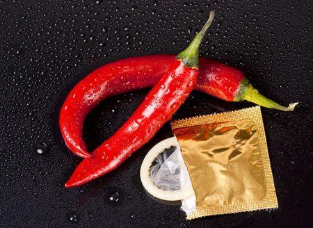 Pfefferschoten Kondom