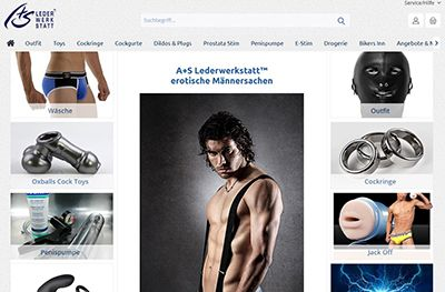 A+S Lederwerkstatt Webshop
